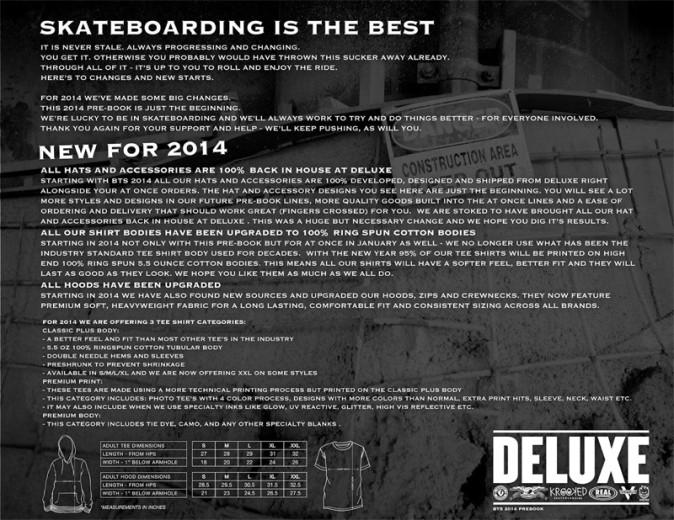 DELUXE BTS 2014
